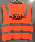 COVID-19 Hygiene Safety Marshal Vest - D/N