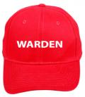 Warden Red - Fire Warden, Logistics etc.